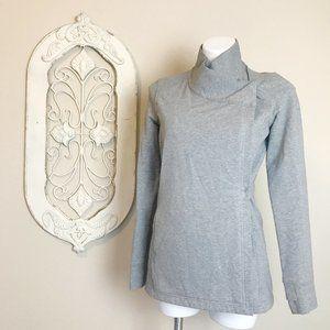 Lululemon   Gray Wrap Long Sleeve Pullover 6